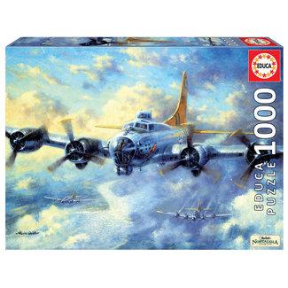 Educa B17G Flying Fortress 1000pc