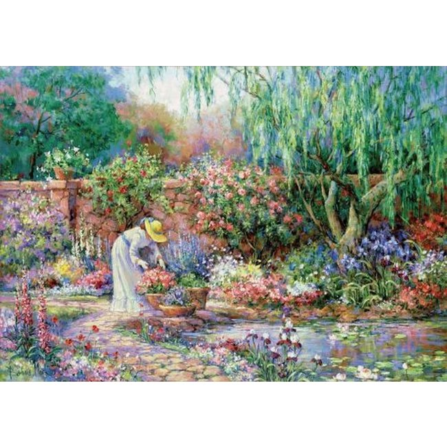 Educa Her Garden - 300pc Large Format Jigsaw Puzzle by Educa