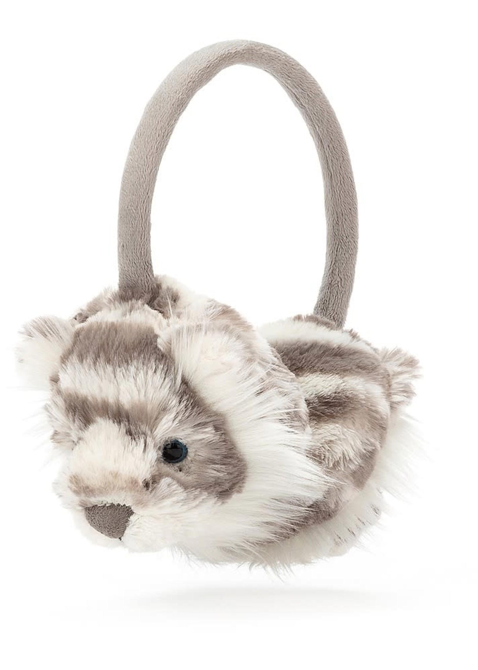Sacha Snow Tiger Earmuffs