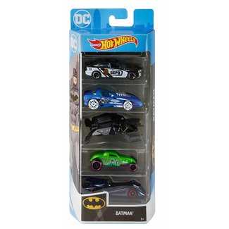 Hot Wheels BATMAN 5pk Vehicles