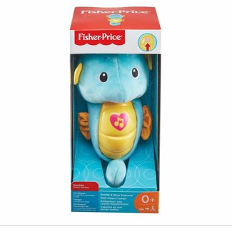 Fisher Price Soothe & Glow Seahorse - Blue
