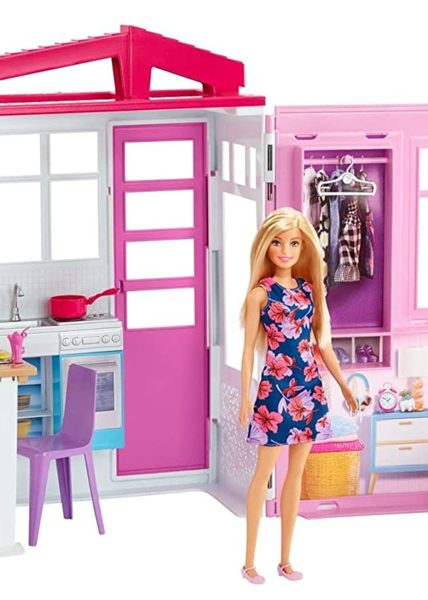 BARBIE House with Doll, furniture and Accessories