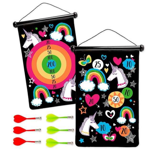 Double Sided Magnetic Target Game - Unicorn