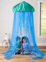 Hearthsong Aquaglow Jellyfish Bower - Blue