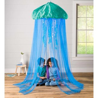 Hearthsong Aquaglow Jellyfish Bower - Blue