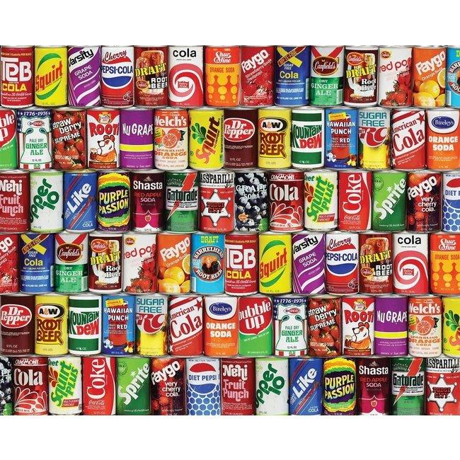 Vintage Soda Cans