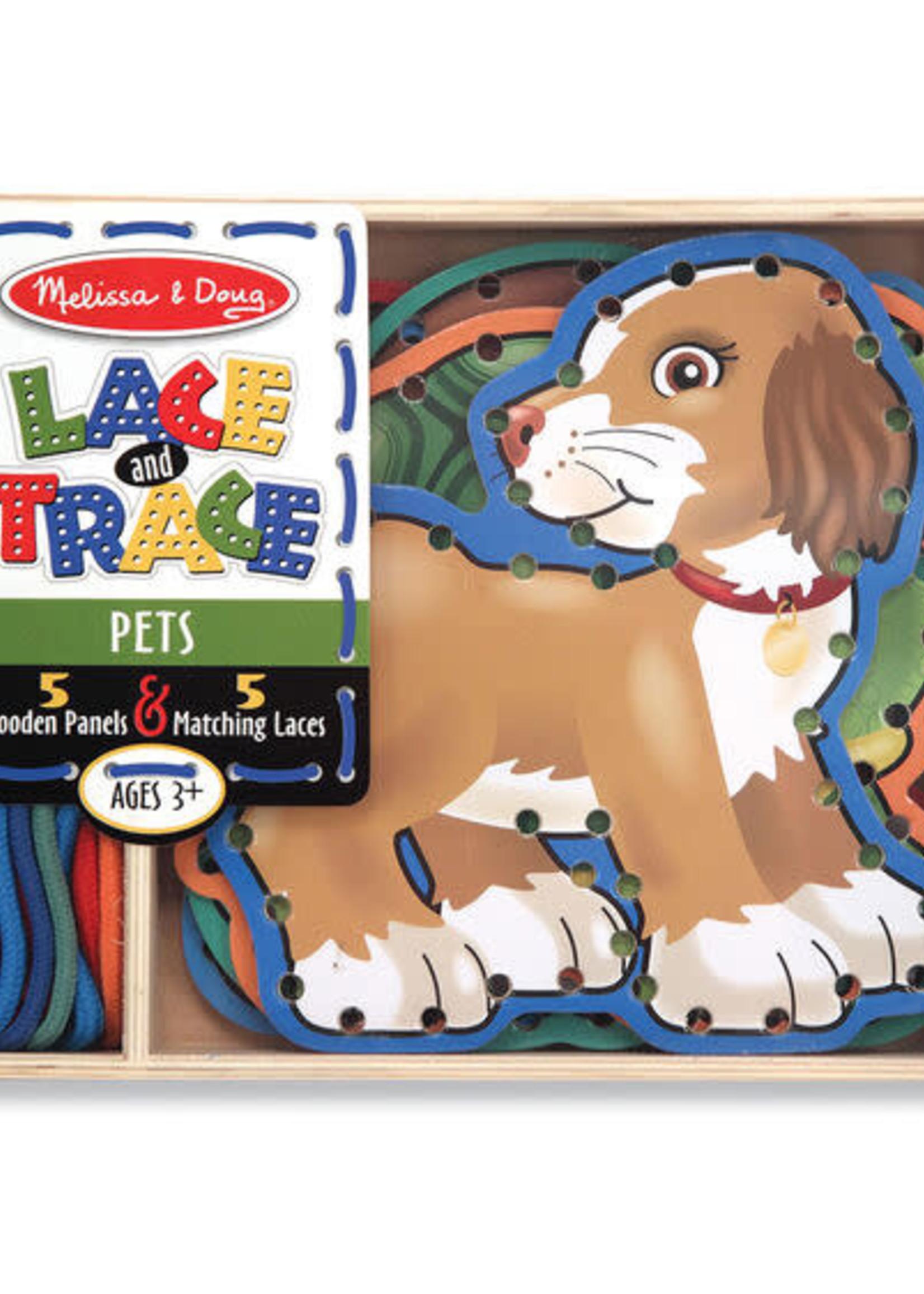 Melissa & Doug Lace and Trace - Pets