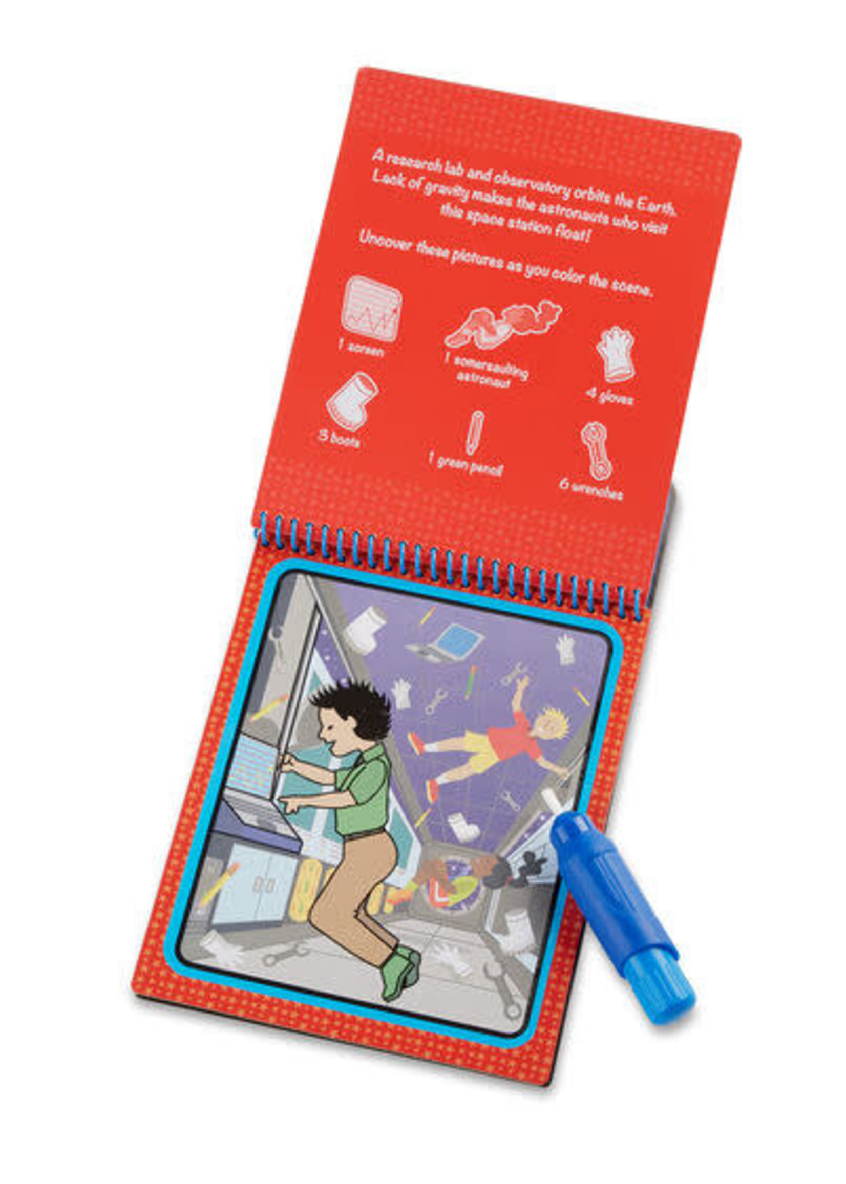 Melissa & Doug Water Wow - Space Water Reveal Pad