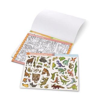 Melissa & Doug Animals Seek & Find Sticker pad
