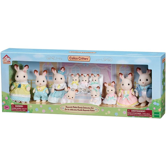 Calico Critters Hop Rabbit Family Celebration (NEW)