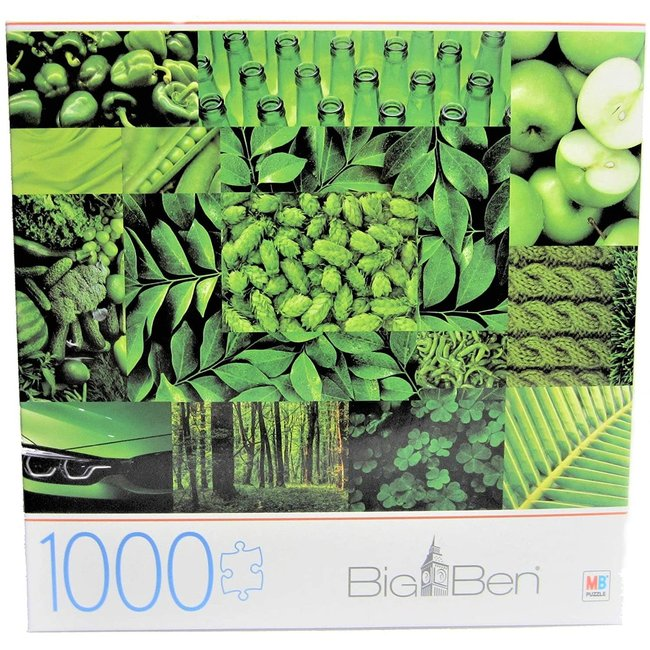 Big Ben Milton Bradley 1000-Piece Jigsaw Puzzle For Adults and kids