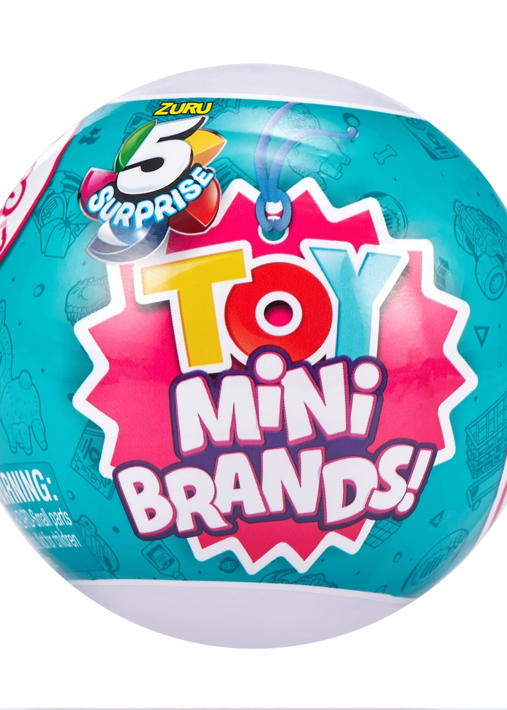 Zuru 5 Surprise Toy Mini Brands Surprise Ball - Series 1