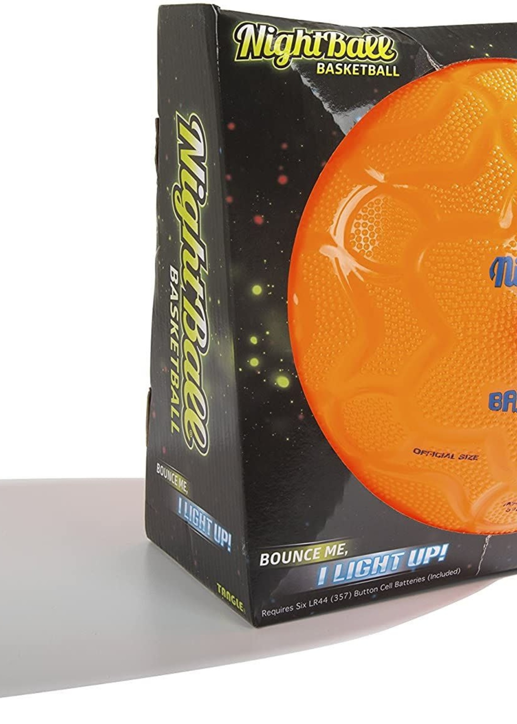 Tangle Nightball Basketball-Orng