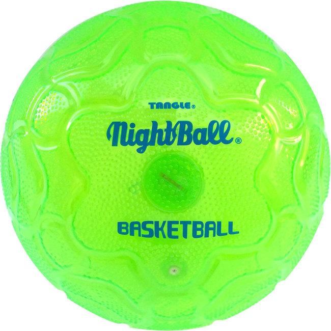 Tangle NightBall Basketball - Green
