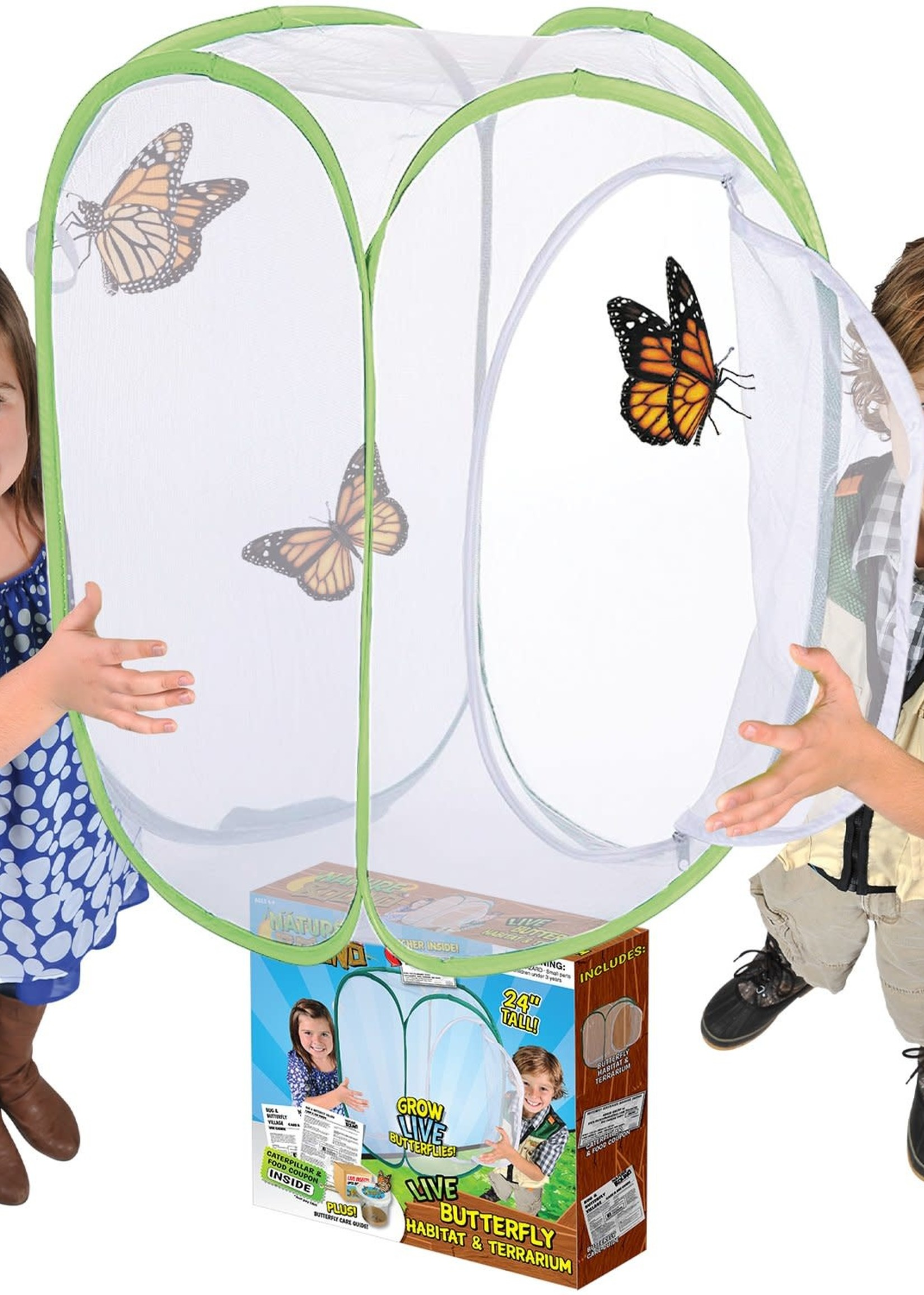 Butterfly Habitat & Terrarium