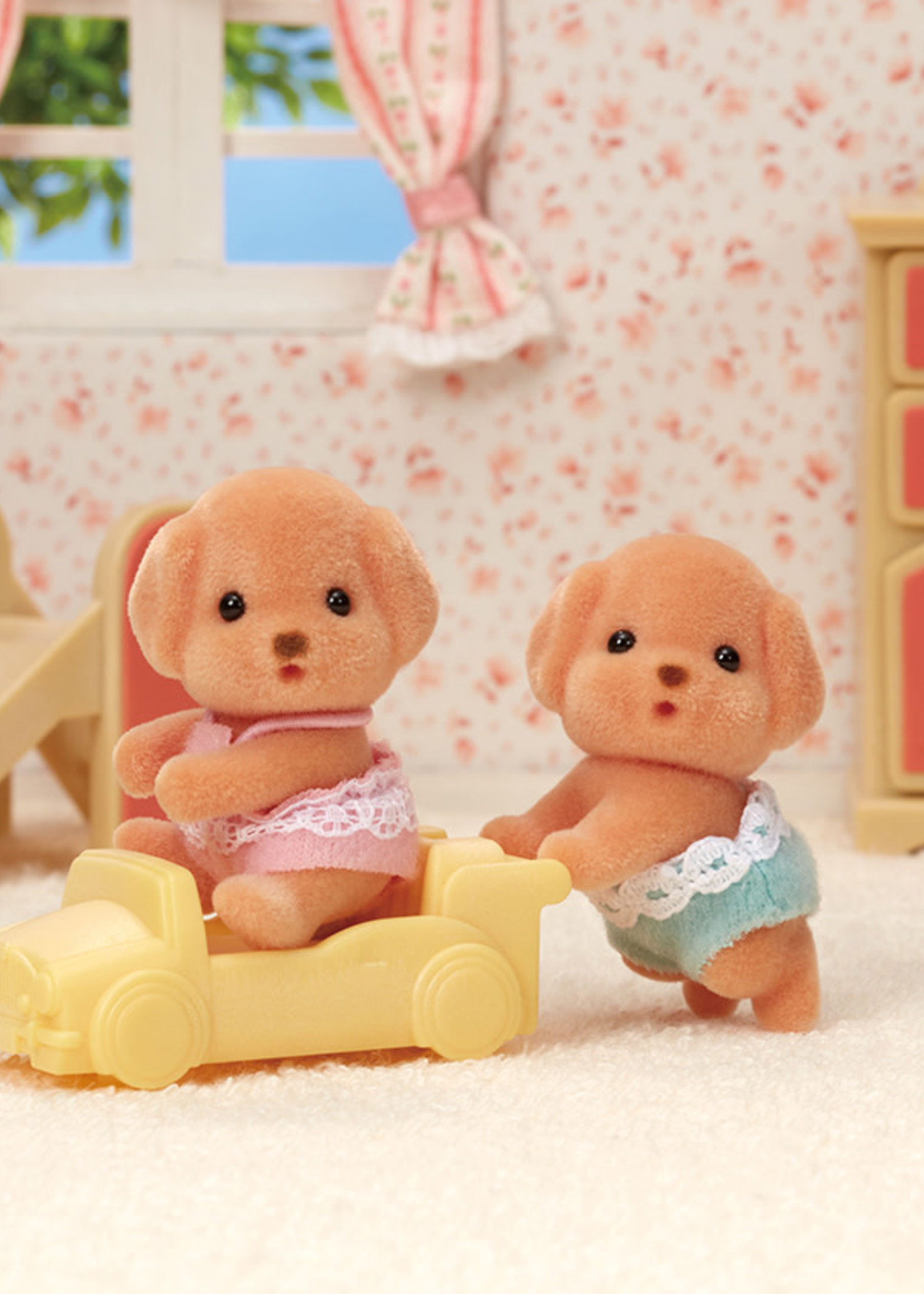 Calico Critters Toy Poodle Twins