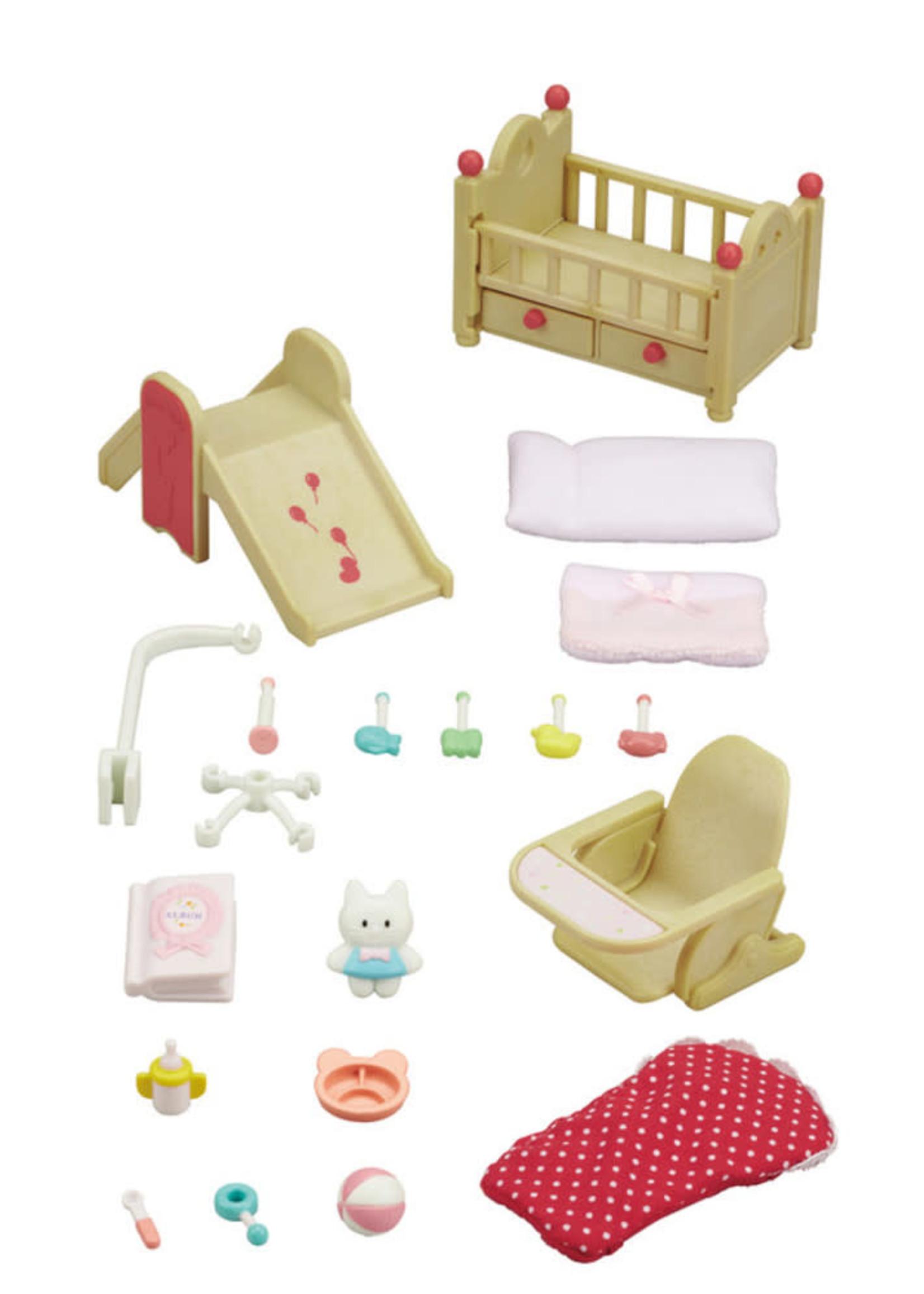 Calico Critters Baby Nursery Set