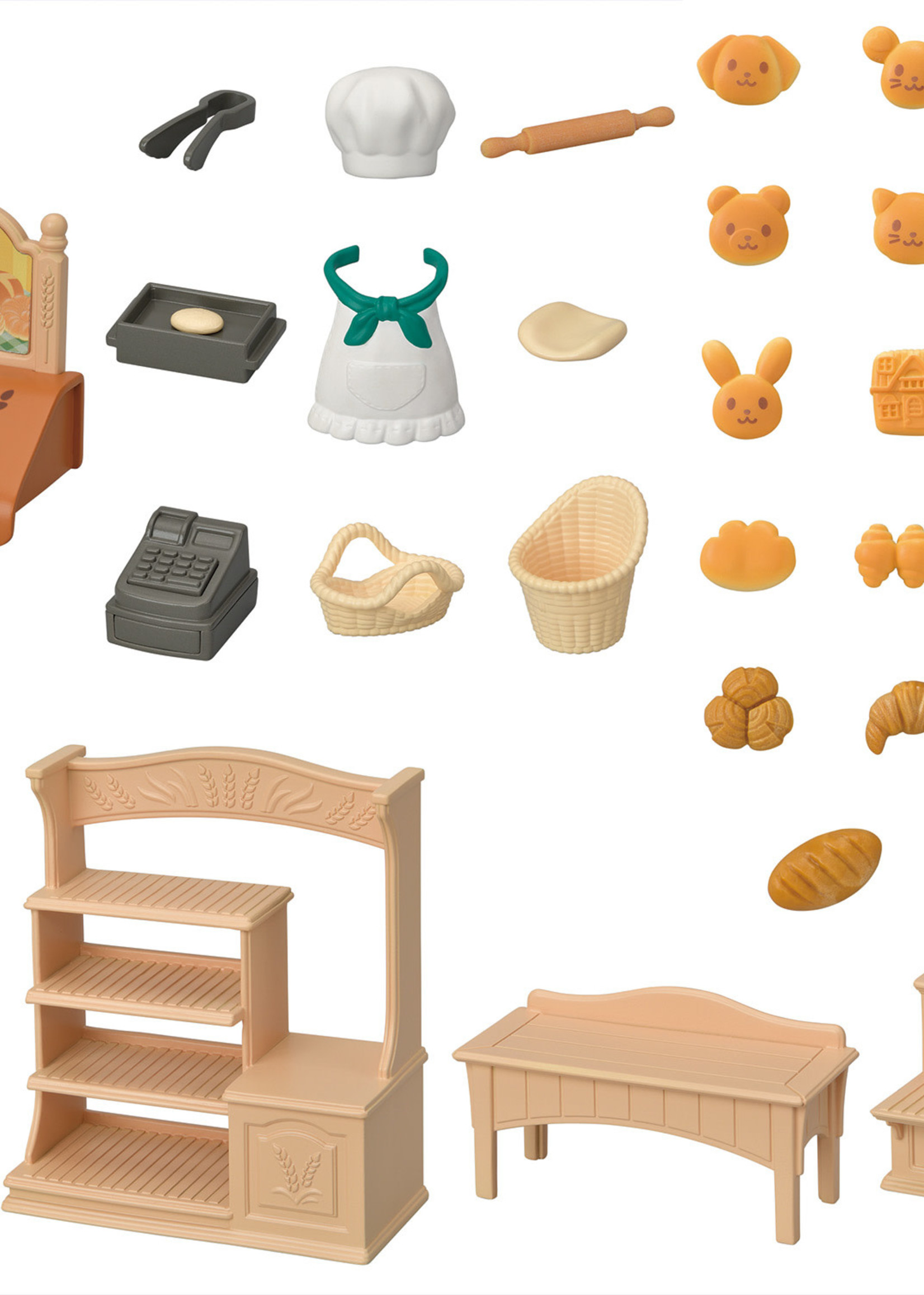 Calico Critters Bakery Shop Starter Set