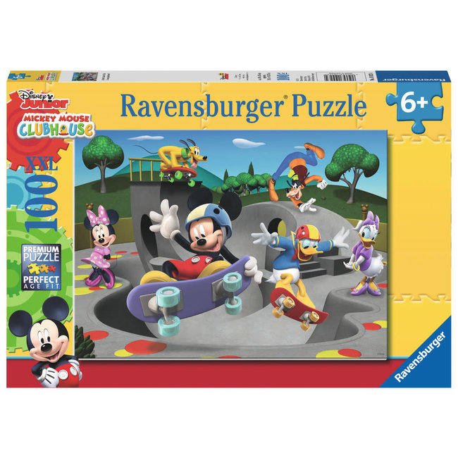 At the Skate Park (100 pc Puzzle)