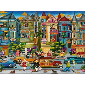The Painted Ladies 1500pc