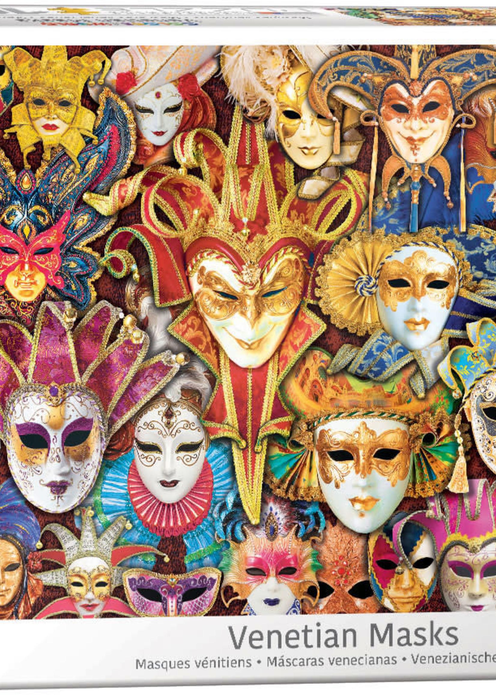 Eurographic Venetian Masks