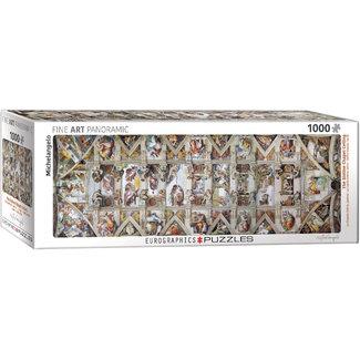 The Sistine Chapel Ceiling (1000pc)