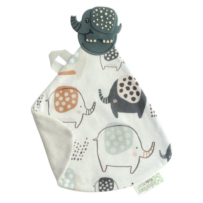 Munch-It Blanket- Earnest Elephant