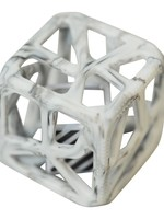 Chew Cube Marble Grey