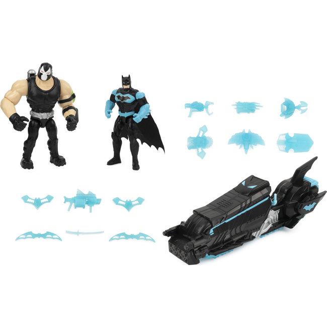 BATMAN Batcycle vehicle Two 4in Figures