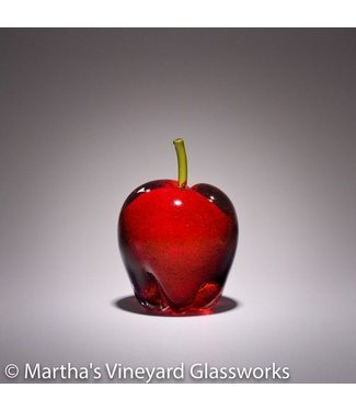 MVG Apple in Gold Ruby with Citron Stem