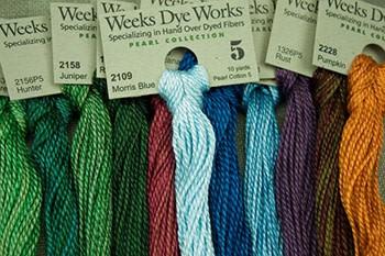 Begonia Weeks dye works