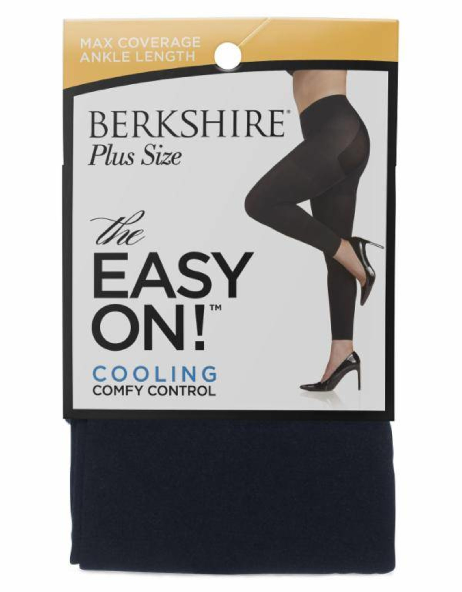 Berkshire Berkshire Easy On! Max Coverage Plus Size Footless Tights