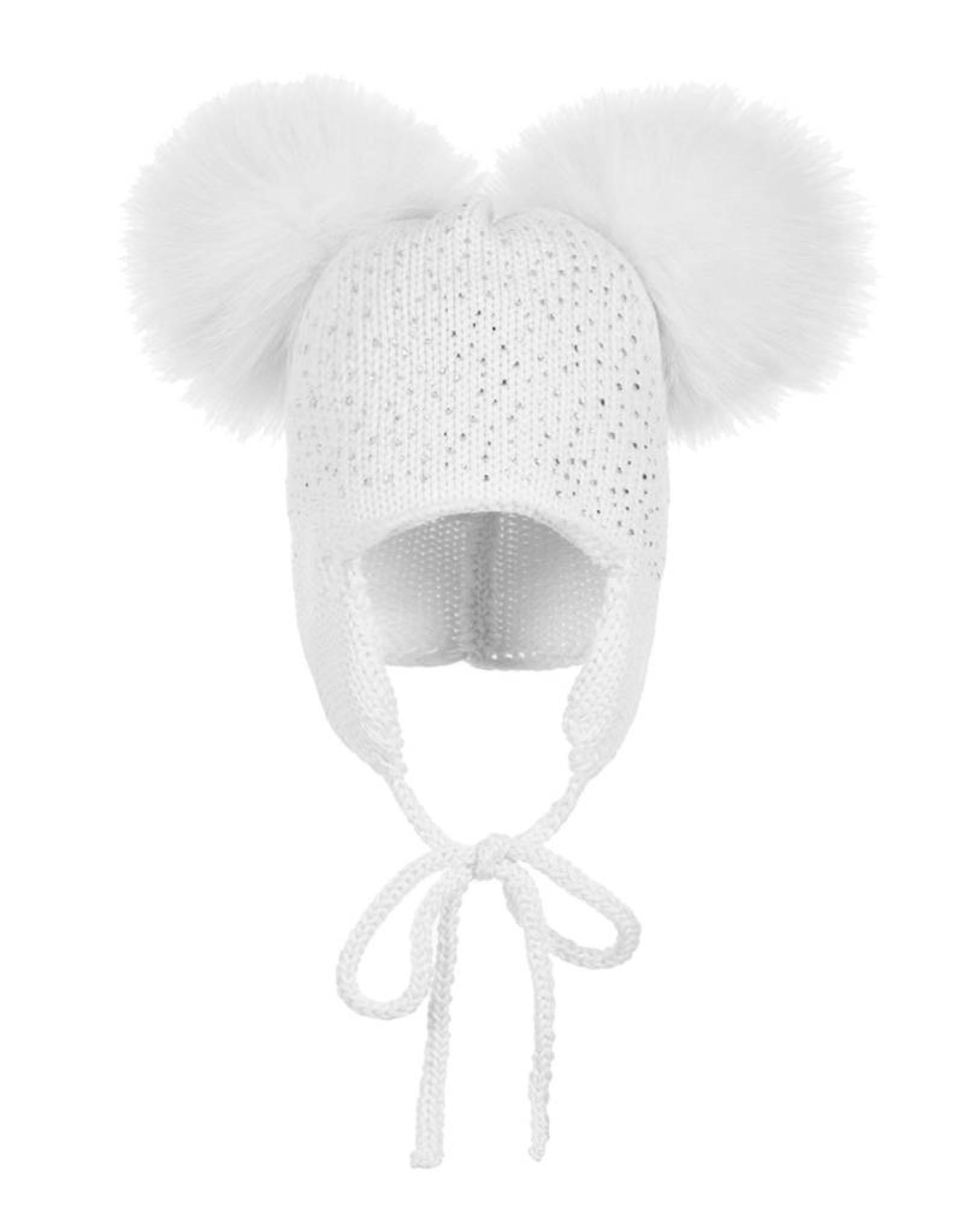 Maniere Maniere Sparkle Baby Tie Hat