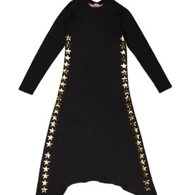 So Nikki So Nikki Girls Side Stars Dress
