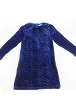 Big A Little a Big A Little a Pleated Velvet Dress
