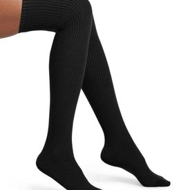 Hue HUE Ribbed Over The Knee Socks
