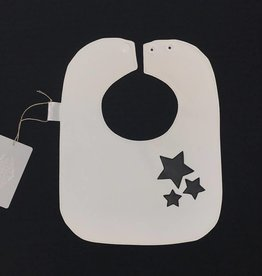 Boca Baby Monochrome Stars Bib