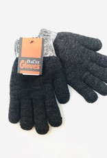 Dacee Design Metallic Knit Gloves