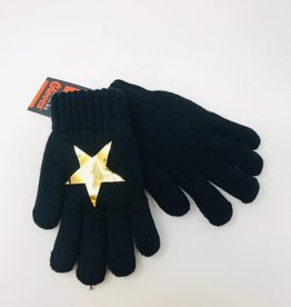 Dacee Dacee Foil Star Gloves