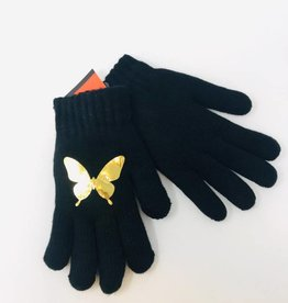 Dacee Dacee Foil Butterfly Gloves