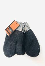 Dacee Design Metallic Knit Mittens