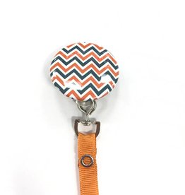 Crystal Dreams Crystal Dreams Chevron Pacifier Clip