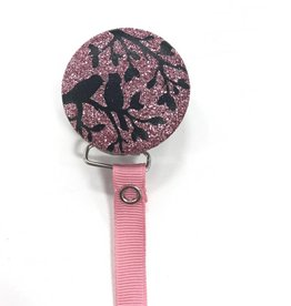 Crystal Dreams Crystal Dreams Shimmer Birds Pacifier Clip