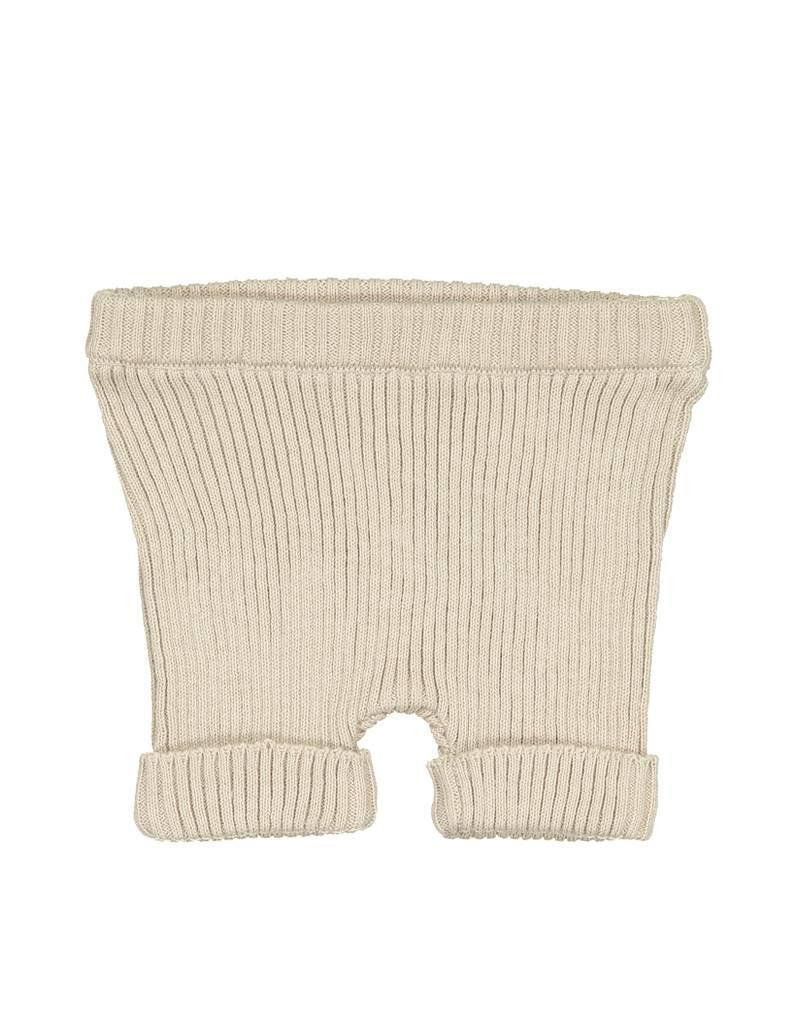 Analogie Analogie SS19 Ribbed Knit Shorts