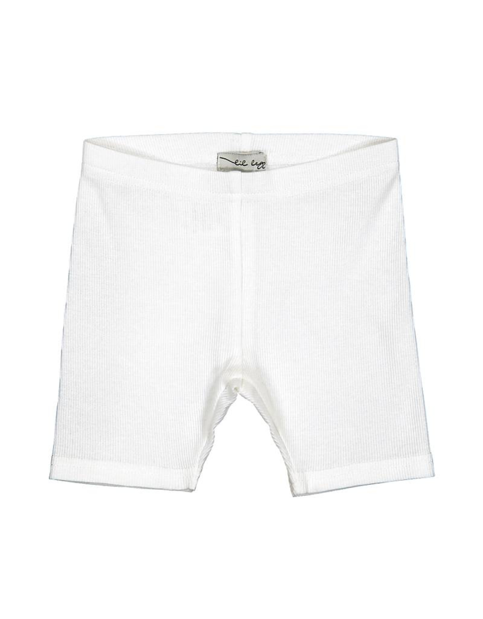LIL LEGS Spring/Summer Ribbed Shorts Basic Colors
