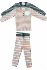 Clo Clo Ribbed Stripe Pajama