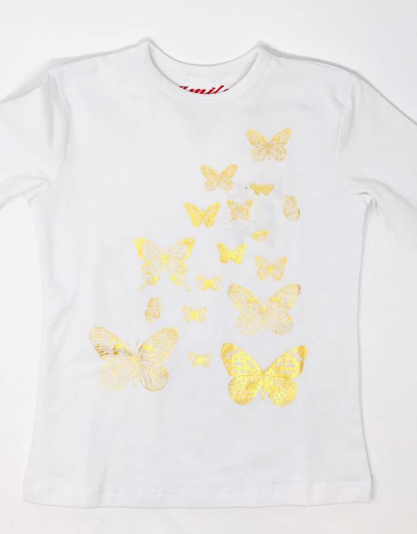 SMILE Smile Metallic Butterfly Top