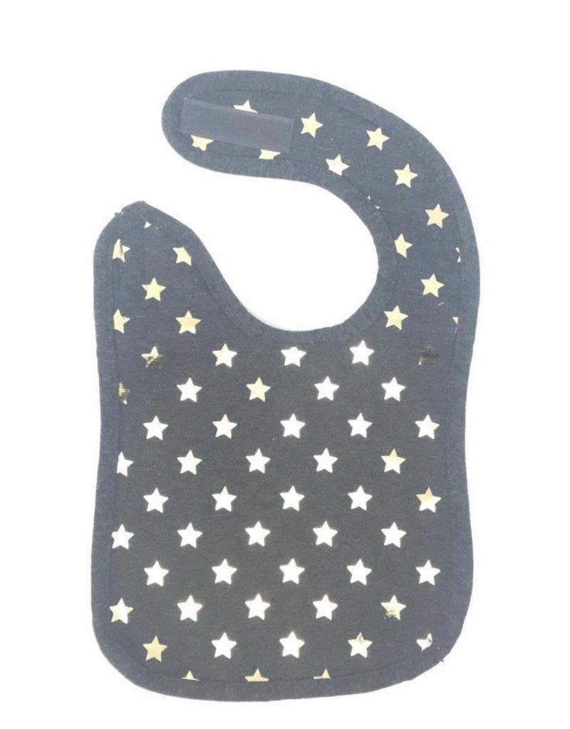 ArGail ArGail Foil Star Grey Bib