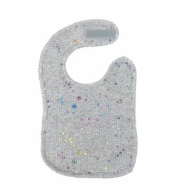 ArGail ArGail Multi Foil Paint Splashes Ribbed Bib