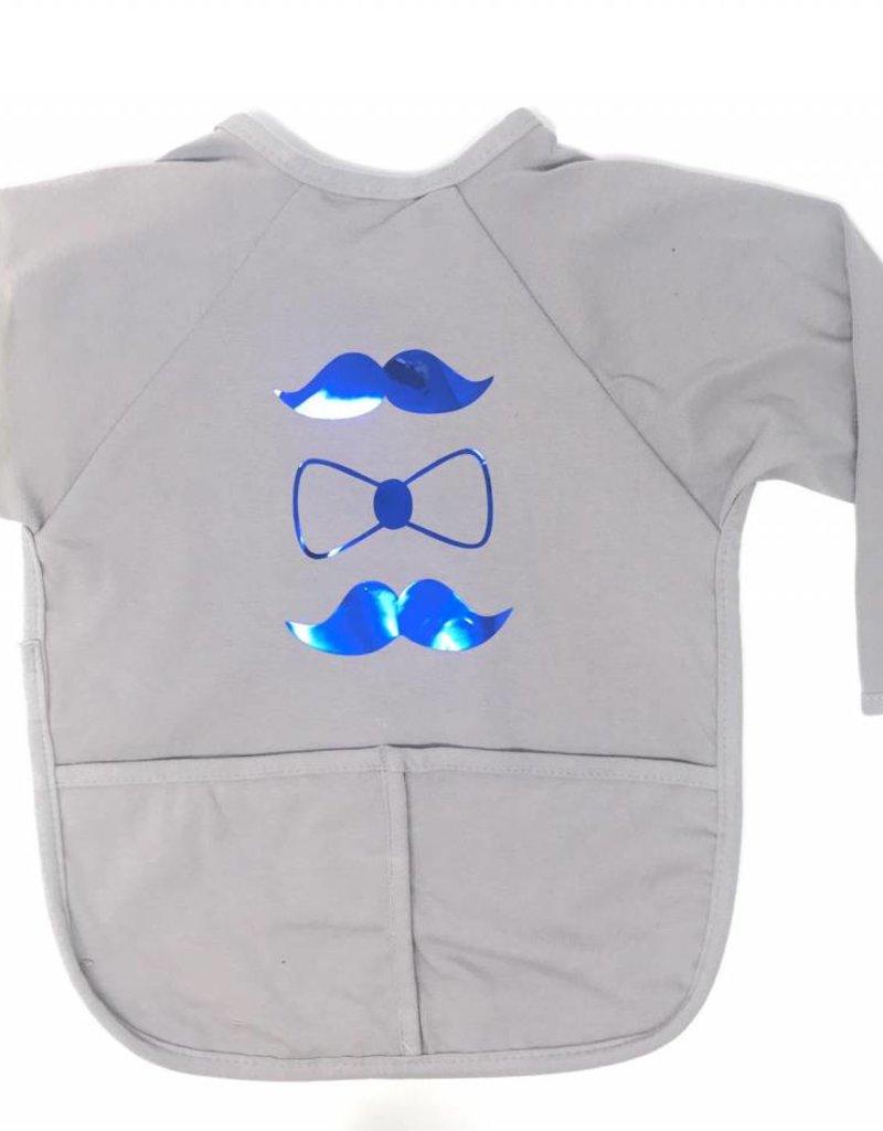 Dacee ArGail Foil Mustache Apron